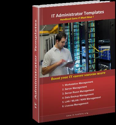 IT Administrator Templates E-Book