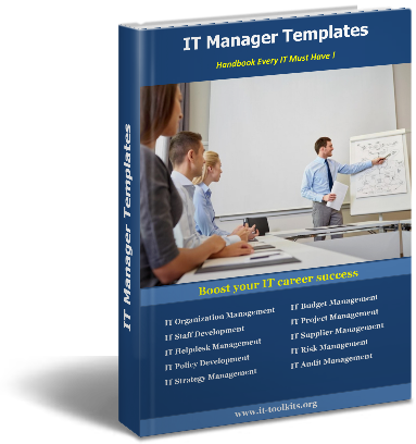 IT Manager Templates Ebook