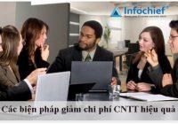 Các biện pháp giảm chi phí CNTT hiệu quả