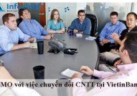 PMO với việc chuyển đổi CNTT tại VietinBank