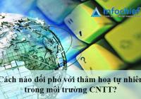 Cách nào đối phó với thảm hoạ tự nhiên trong môi trường CNTT?