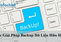 Các giải pháp backup dữ liệu hữu hiệu