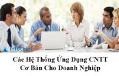 Các hệ thống ứng dụng CNTT cơ bản cho doanh nghiệp