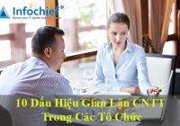10 Dấu hiệu gian lận CNTT trong các tổ chức