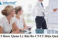5 Bước quản lý rủi ro CNTT hiệu quả