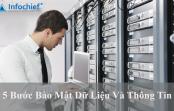 5 Bước bảo mật dữ liệu và thông tin