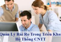 Quản Lý Rủi Ro Trong Triển Khai Hệ Thống CNTT